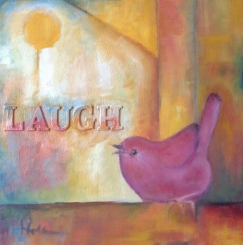 laughter-is-my-song-oil-on-canvas