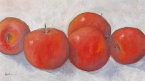 apples, still life, fruit