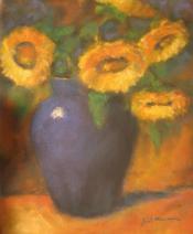 sunflower-still-life