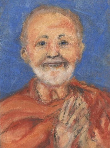 swami-kriyananda-oil-on-canvas